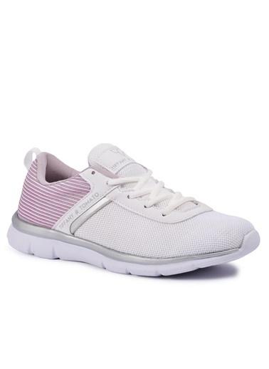 Tiffany&Tomato 9111006 Beyaz Kadın Spor Ayakkabı Beyaz